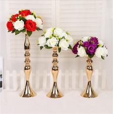 Stunning Silver Iron Luxury Flower Vase Urn Wedding Table Centrepiece