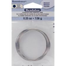 Remembrance Memory Wire Bracelet .62mm .25oz-Bright - 18 Coils, Jmbt-0