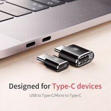 BASEUS MINI MASCHIO USB Femmina a C 3.1 Tipo ADATTATORE CONVERTITORE CONNETTORE