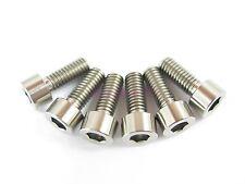M6 x 15mm Titanium Ti Bolt Hex Socket Cap Head - Allen Key Screw GR5 - 2/6/10pcs