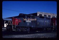 Original Slide SSW Cotton Belt GP20 4134 In 1985 AT Houston TX