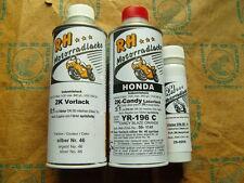 Honda lackset laque color set yr 196 C Candy Blaze Orange