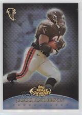 1999 Topps Finest Team Refractor T5 Jamal Anderson Atlanta Falcons Football Card