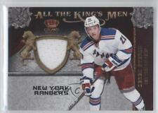 2011-12 Panini Crown Royale All the King's Men Memorabilia #15 Derek Stepan Card