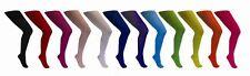 Strumpfhose für Erwachsene - Farbe: blau, gelb, orange, rot, schwarz oder weiß
