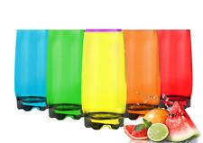 6 Vasos 350ml 7 variantes VASOS DE JUGO vasos de cóctel vasos de trago largo