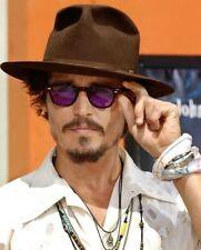 Vintage 1960's sunglasses artists love mens Johnny Depp eyeglass purple lenses
