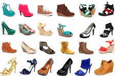 Wholesale Women's  Mix & Match Pump Boots Sandals Sneaker Wedge Size 5 - 10 NEW
