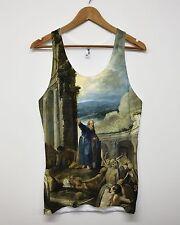 The Vision of Ezekiel All Over Print Vest Tank Top Singlet Religion Saint Men