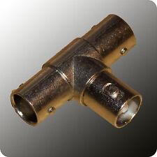 BNC T-Stück - 3 x w - Buchse - Adapter - 5 oder 10 Stück