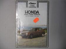 NOS Clymer Honda Civic Service Repair Shop Manual 1973-1976