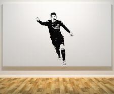Lionel Messi Barcellona Argentina giocatore di football decalcomania adesivo parete arte foto