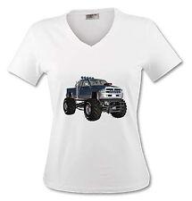 T-shirt Femme Monster Truck - du S au XL