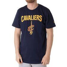 New Era NBA CLEVELAND CAVALIERS CAMISETA DE HOMBRE CAMISA AZUL MARINO 33926