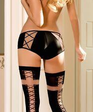 Culotte noire femme sous-vêtement lingerie-sexy Efi roza Tailles 36/38/40/42/44