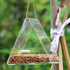 Bird Feeder Squirrel Proof Outdoor Garden Seed Food Container Tree Hanging Box