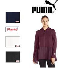 SALE! PUMA Women's Evo Drapy Full Zip Hoodie Hoody Jacket SIZE & COLOR VARIETY