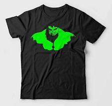 Incredible Hulk Tshirt Avengers Gym Weight Training Marvel Hulk Smash Mens Black