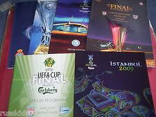UEFA CUP FINALS / EUROPA LEAGUE FINALS