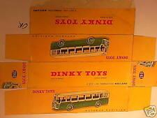 REPLIQUE BOITE AUTOBUS SOMUA 1950 DINKY TOYS