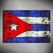 adesivo bandiera Cuba flag sticker autocollant pegatina aufkleber