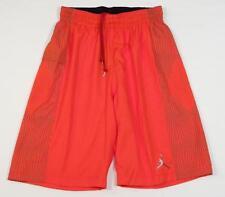 Nike Dri Fit Jordan Jumpman Orange Basketball Shorts Mens NWT