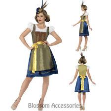 CL969 Traditional Deluxe Heidi Bavarian Costume Oktoberfest Beer Maid Costume