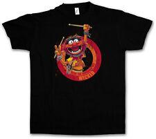 WICKED DRUMMER T-SHIRT - Schlagzeuger Drums Heavy Metal Rockabilly Rock T-Shirt