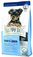 4 kg Welpenfutter, Welpen Spezialfutter Happy Dog Surpreme Mini Baby & Junior