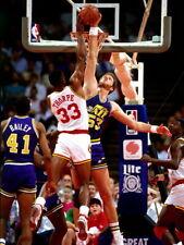 Mark Eaton Block Utah Jazz Retro Basketball Sport Huge Print POSTER Affiche