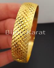 Baklava Bilezik Trabzob 22 Karat Gold Armreif Armreifen Altin Kaplama Bileklik