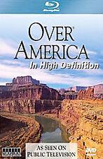 Over America (Blu-ray Disc, 2008) Minty Blu-ray Disc in Slipcase