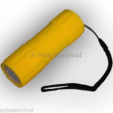 Lot of 12 - 7 LED Waterproof Survival Flashlight Strobe