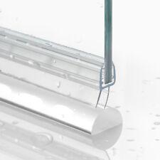 Acryl Dichtung + Duschdichtung Wasserabweiser Glasdusche Schwallschutz Bad Paket