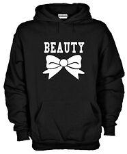 Felpa Cappuccio Beauty J871 Idea Regalo Sweater La Bella Cotone