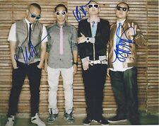 Far East Movement *Like a G6* Signed 8x10 Photo 3 Signatures KEV NISH 2 COA GFA