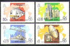 Hong Kong 1986 EXPO/Train/Ship/Plane/Radio/Rail/Aviation/transport 4v set n37785