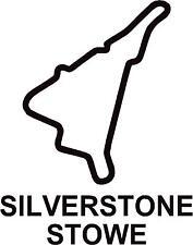 X2 circuito di Silverstone Stowe PISTA contorno Vinile Decalcomanie Adesivi Grafica