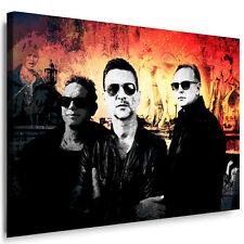 """Leinwandbilder ORG """"Depeche Mode"""" Bild auf Leinwand Wandbild, Kunstdruck Poster"""