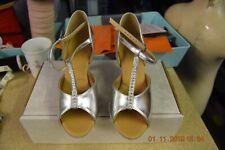"Silver Latin 2"" heel dance depot ballroom/latin dance shoes"