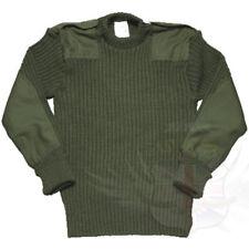British Army extra Protezione Verde Oliva Combattimento Maglione, in Lana