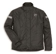 Ducati Strada 2 chaqueta de Lluvia negro 2015 impermeable traje