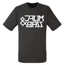 Drum & bass t-shirt - adulte homme-S / M / L / XL neuf w / tags D&B Dnb Jungle