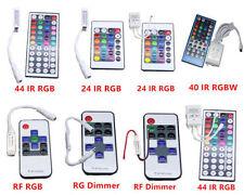 11 12 24key 44key IR Remote controller For 2835 5630 3014 5050 RGB LED strips