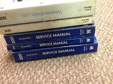 2001 PONTIAC GRAND PRIX Service Shop Repair Manual Set W UNIT REPAIR MANUALS NEW