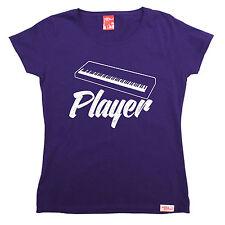 Keyboard Player WOMENS T-SHIRT Band Piano Instrument Funny Christmas fashion gif