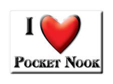 SOUVENIR UK - ENGLAND MAGNET UNITED KINGDOM I LOVE POCKET NOOK (CHESHIRE)
