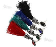 Women Fashion Charm Tassel Pendant Drop Dangle Earrings Dance Party Jewelry