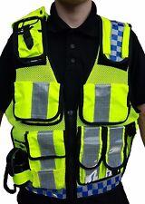 Hi Viz Tactical Load System Tac Vest Security Dog Handler Marshal HV02