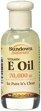 B Sundown Naturals Vitamin E Oil 2.50 Oz